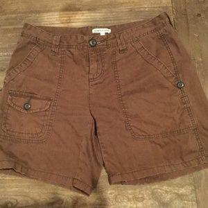 Woman's Brown Polo Shorts Size 27/4
